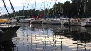 Sailboats at rest