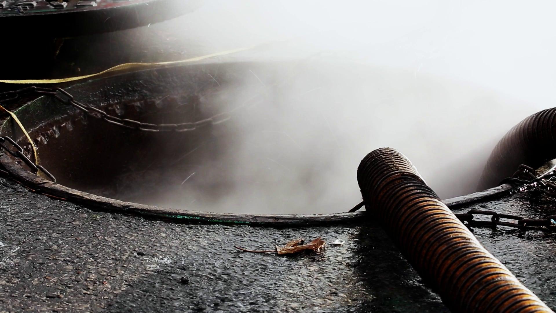 Dramatic Manhole