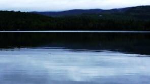 Windless Cloudy Lake