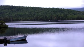Dock Boat & Quiet Lake
