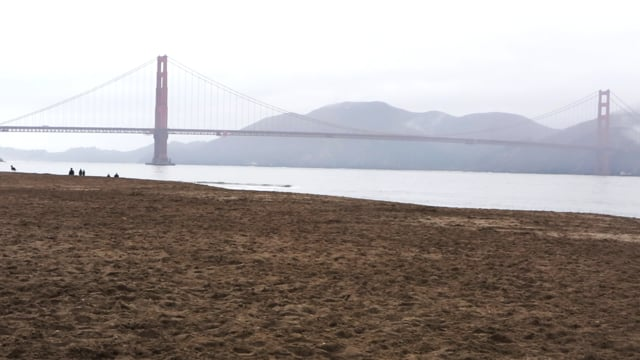 Famous Bridge by the Beach