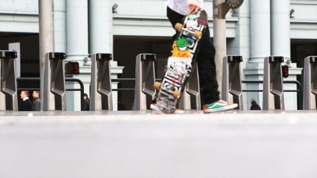 Skateboarders Place
